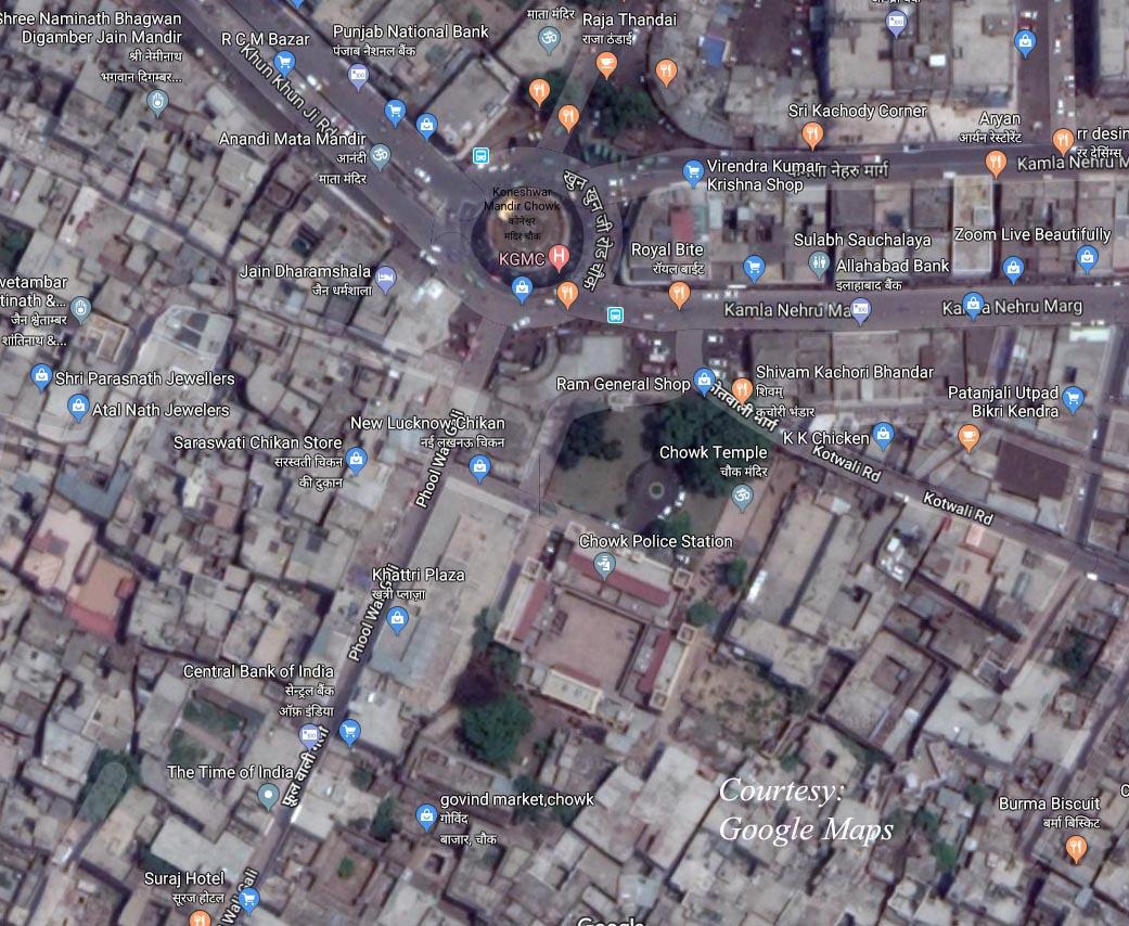 Chowk Map