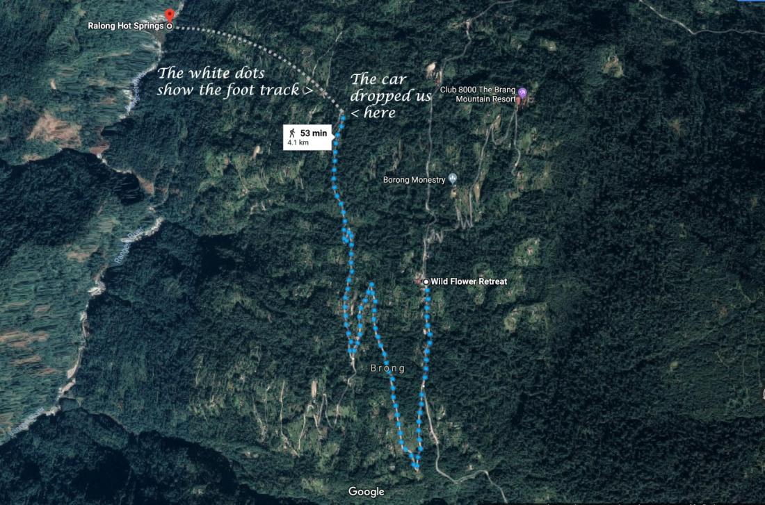 Borong Map
